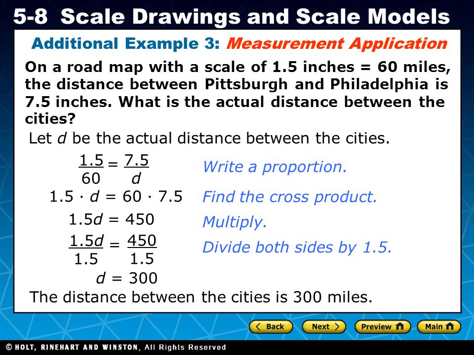 Additional Example 3: Measurement Application