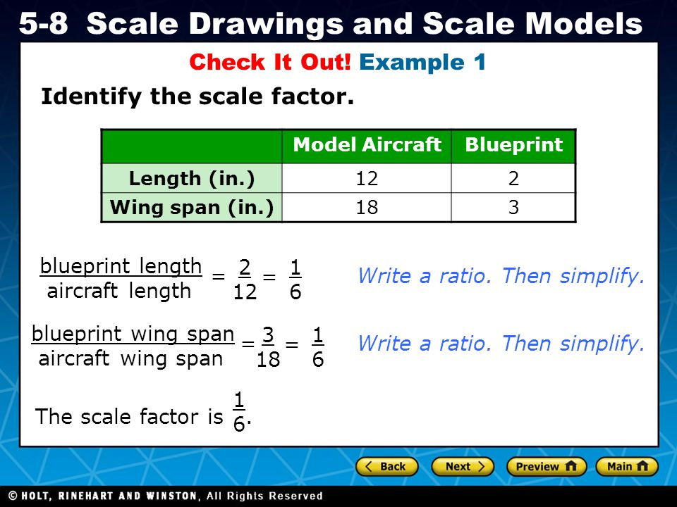 Identify the scale factor.