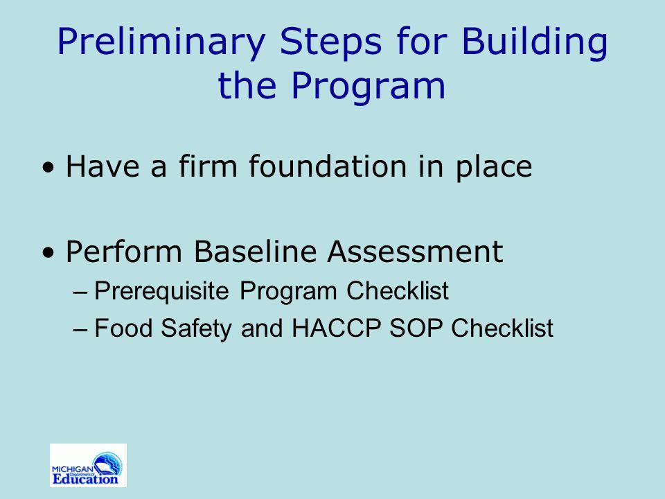 Preliminary Steps for Building the Program