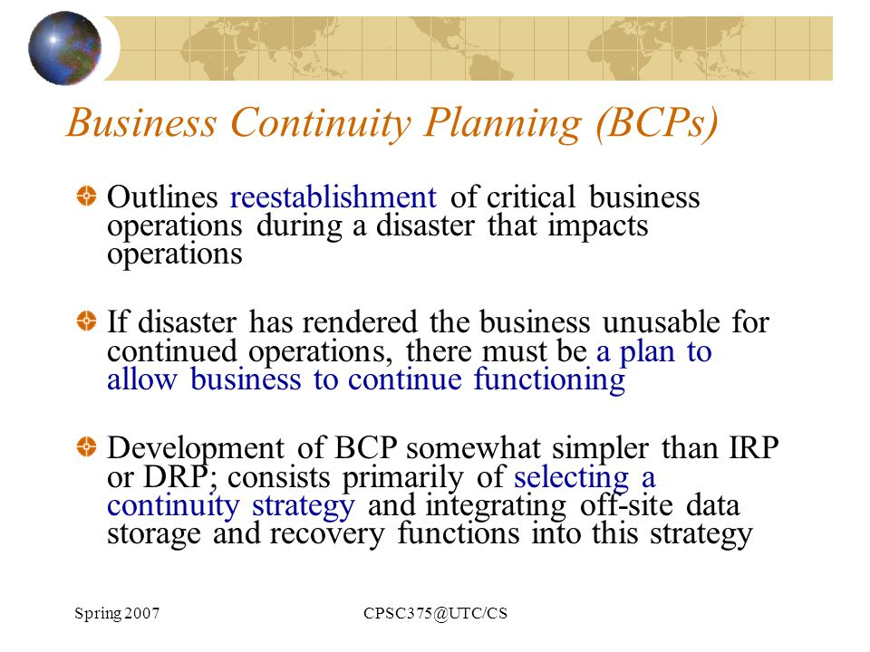 How a Business Continuity Plan Can Protect Your Company