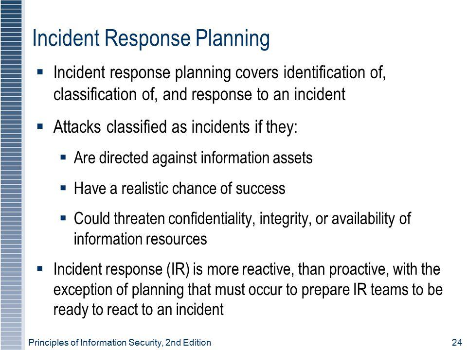 Incident Response Planning