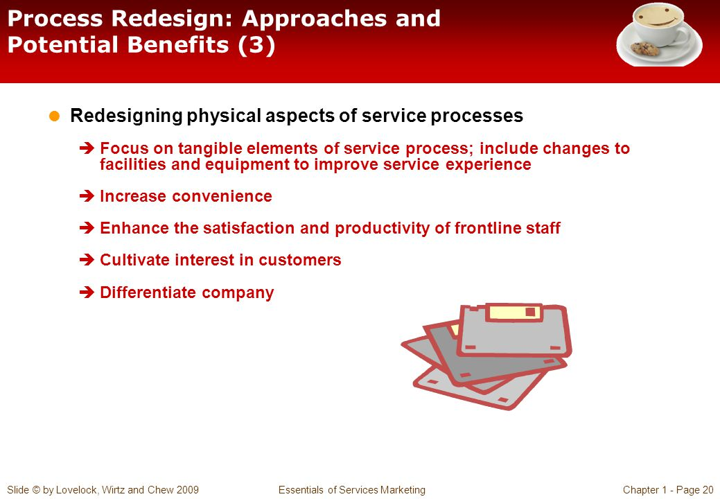 Process Redesign: Approaches and Potential Benefits (3)