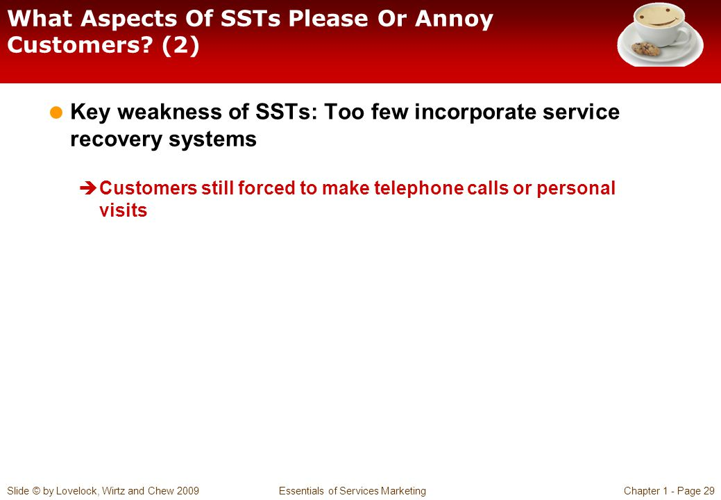 What Aspects Of SSTs Please Or Annoy Customers (2)