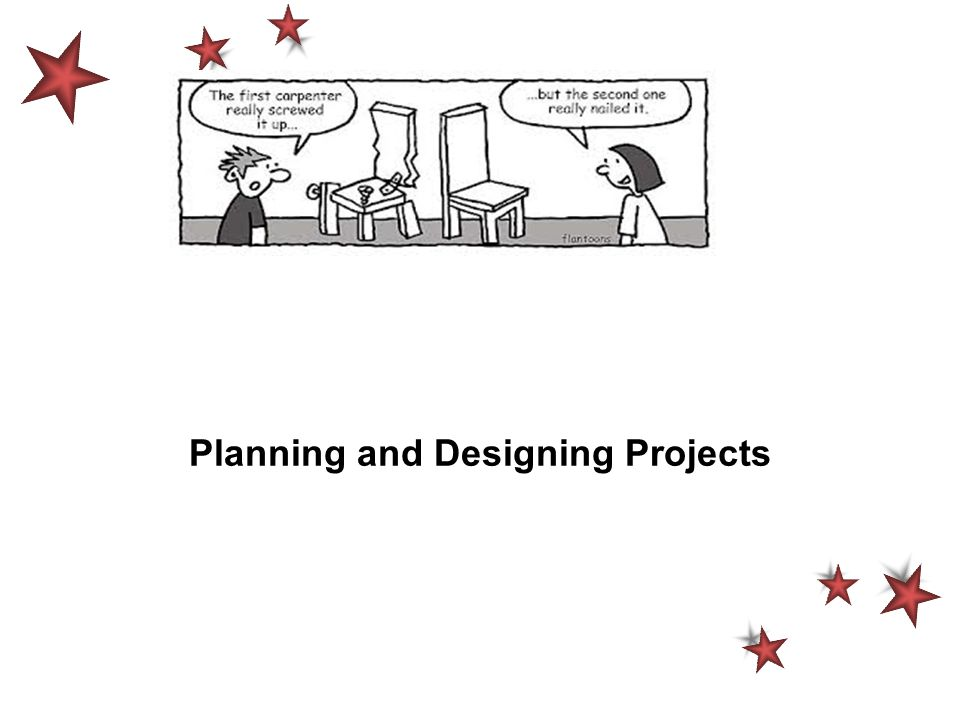 Planning and Designing Projects