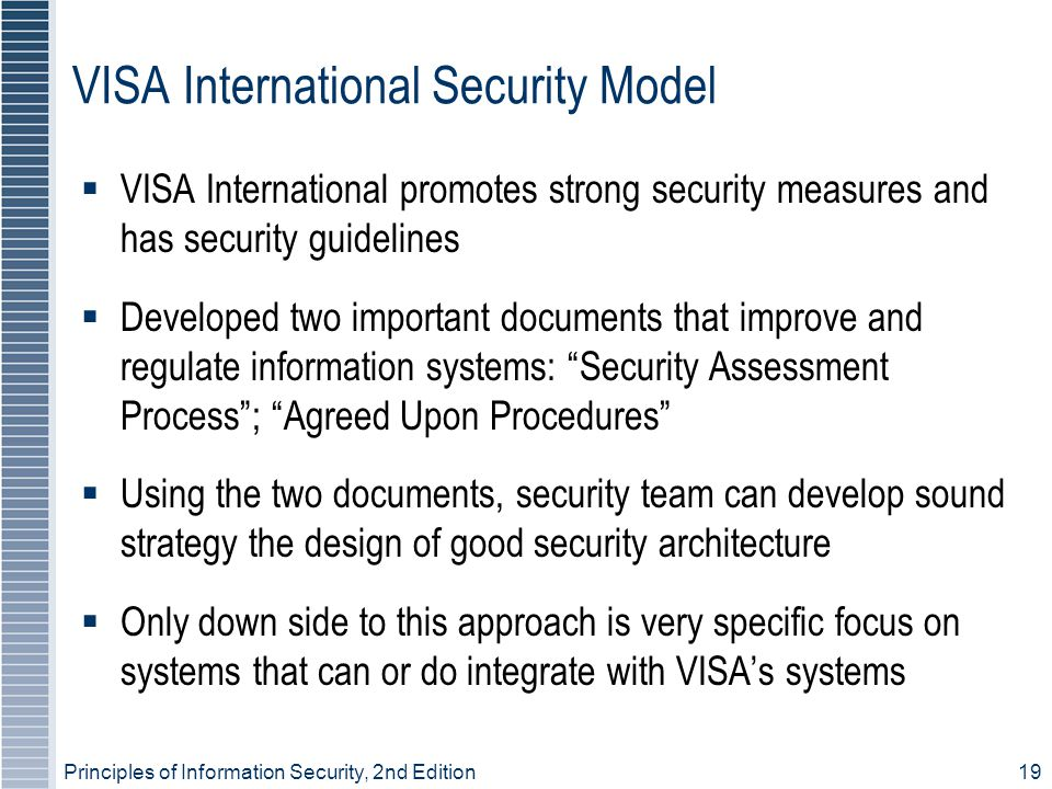 VISA International Security Model