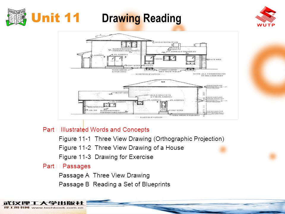Unit 11 Drawing Reading Part ⅠIllustrated Words and Concepts