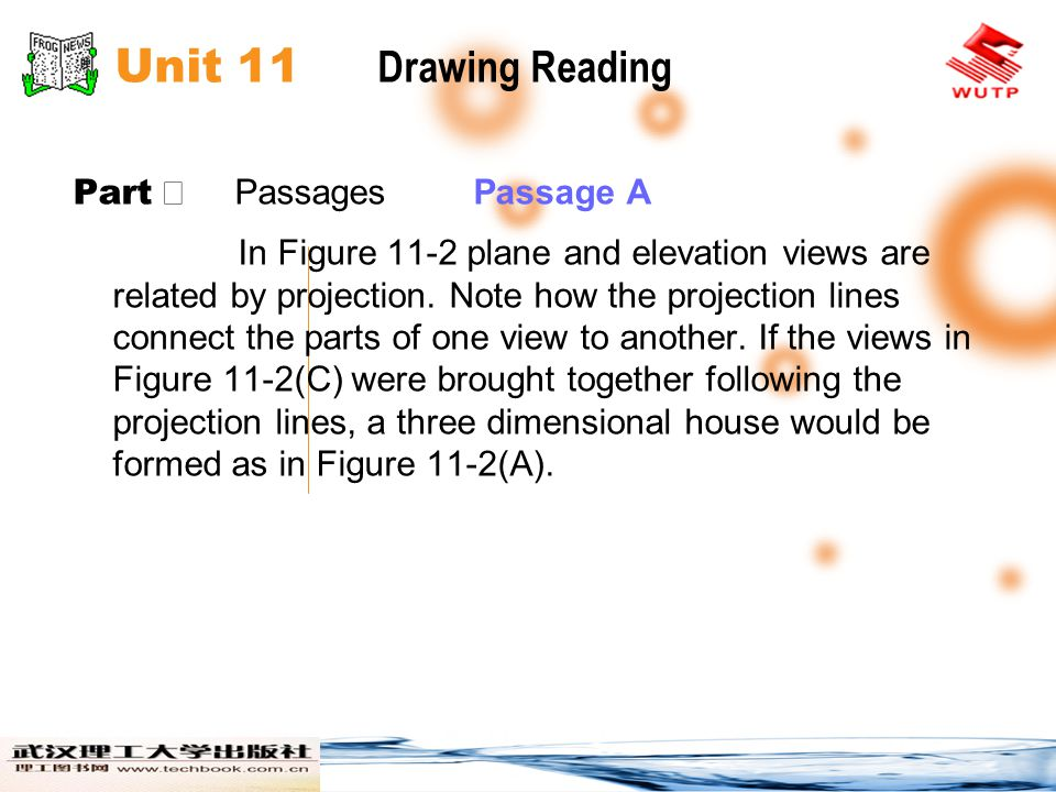 Unit 11 Drawing Reading Part Ⅱ Passages Passage A