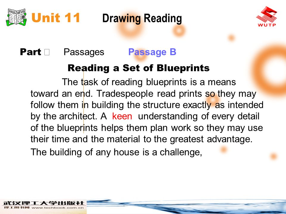 Unit 11 Drawing Reading Part Ⅱ Passages Passage B