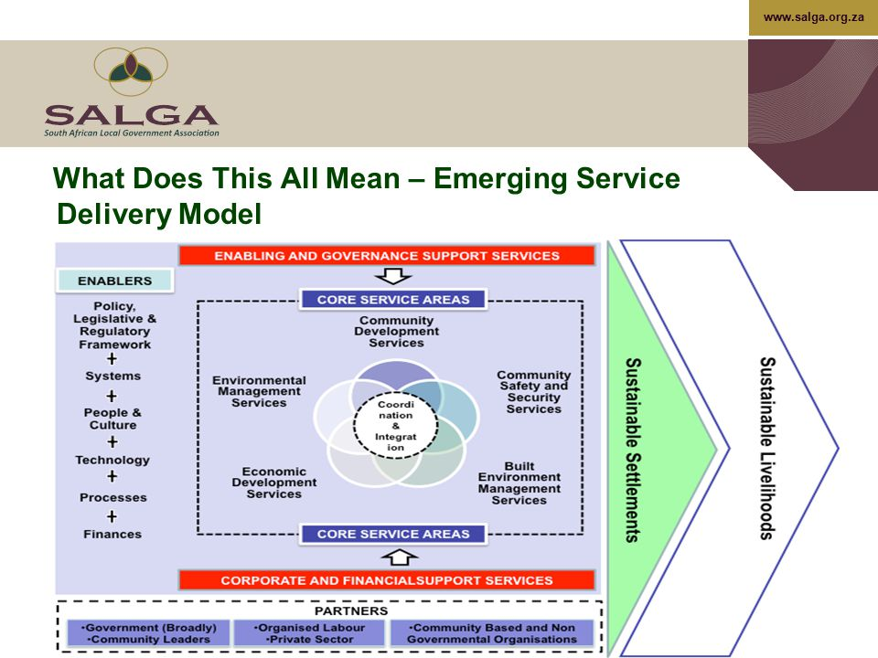 What Does This All Mean – Emerging Service Delivery Model