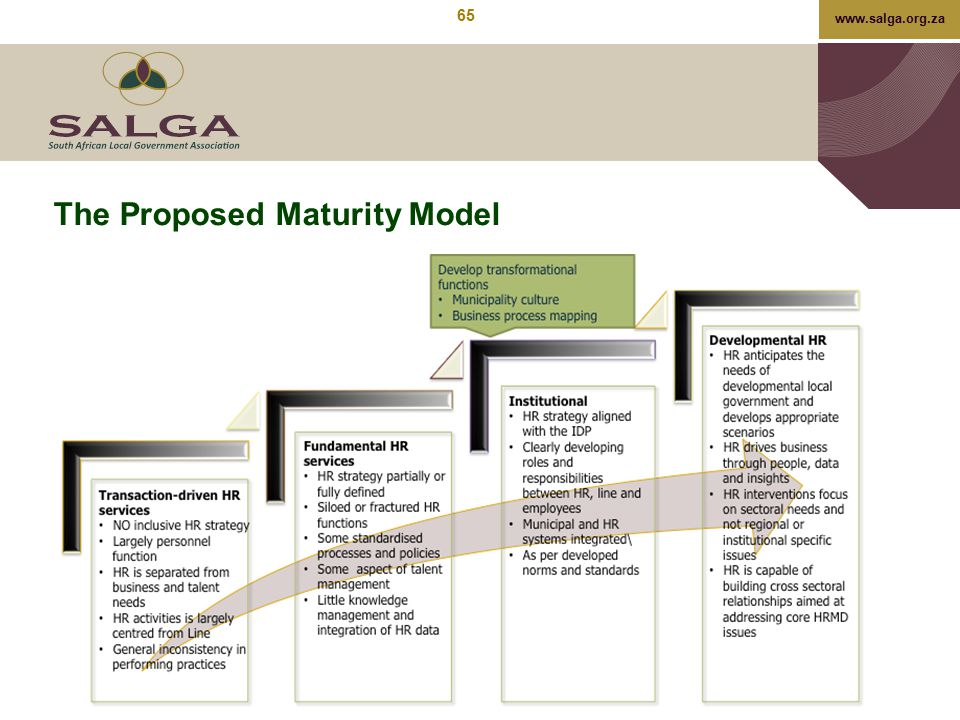 The Proposed Maturity Model