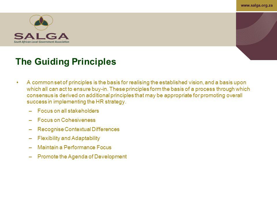The Guiding Principles