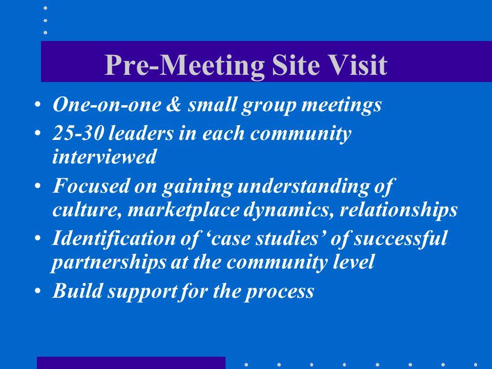 Pre-Meeting Site Visit