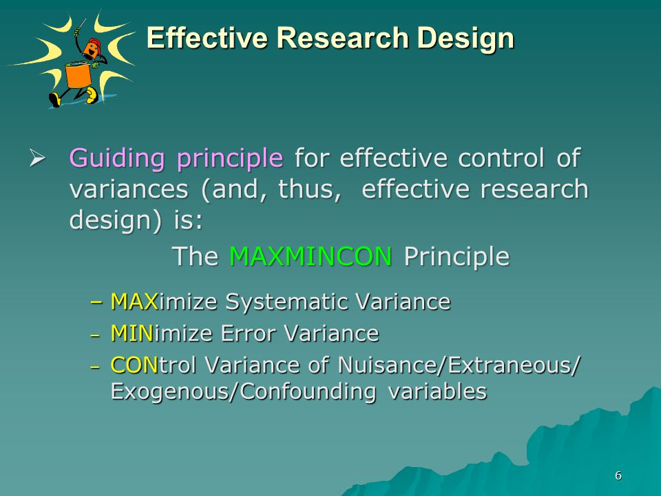 Effective Research Design