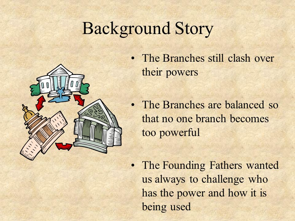 Background Story The Branches still clash over their powers