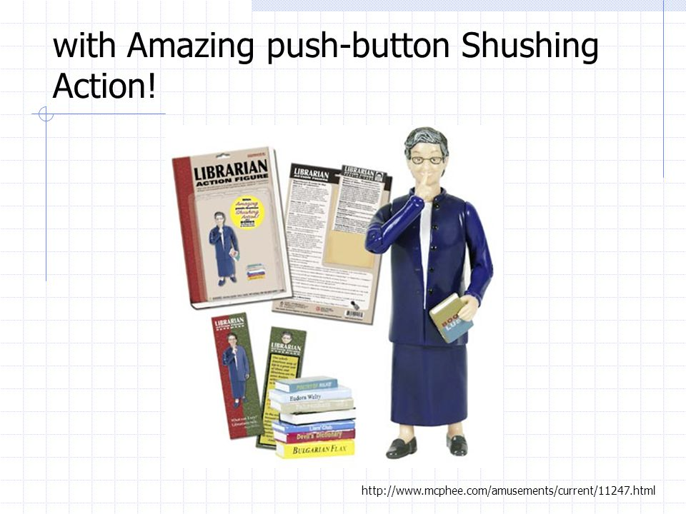 with Amazing push-button Shushing Action!