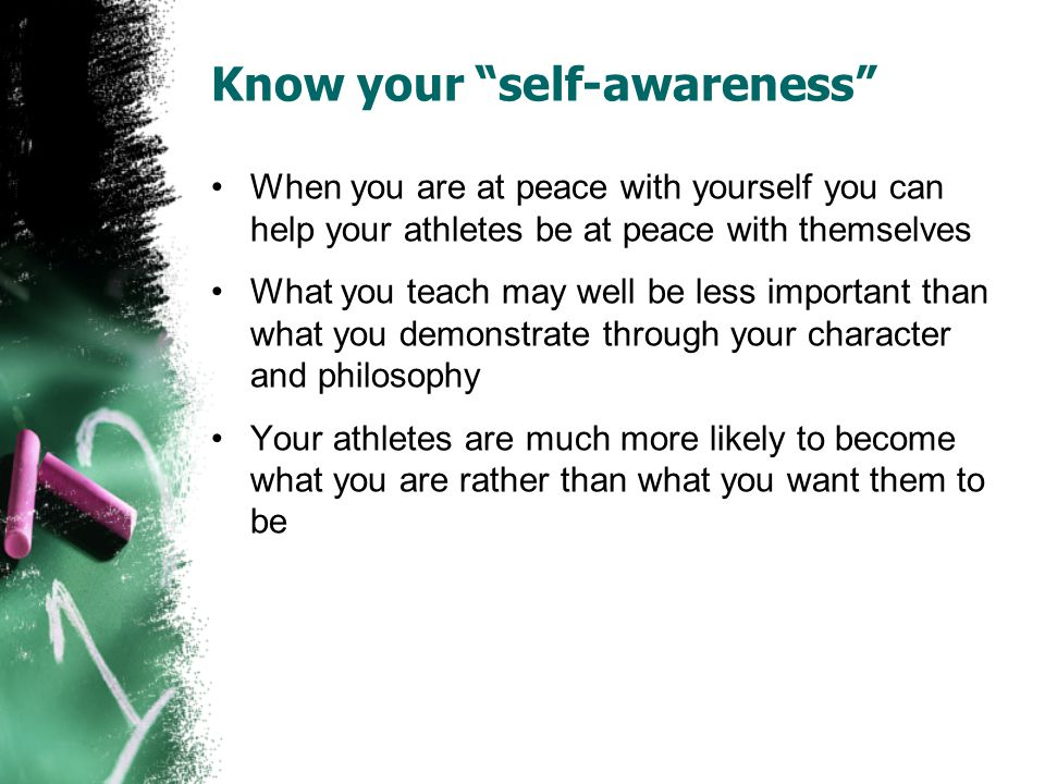 Know your self-awareness