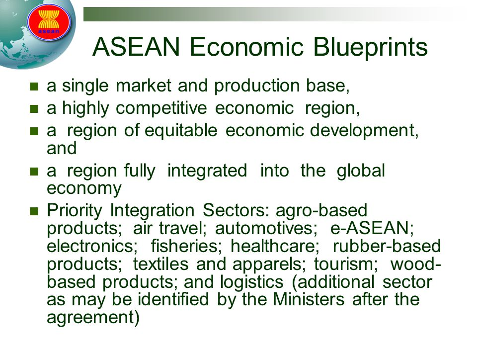 ASEAN Economic Blueprints