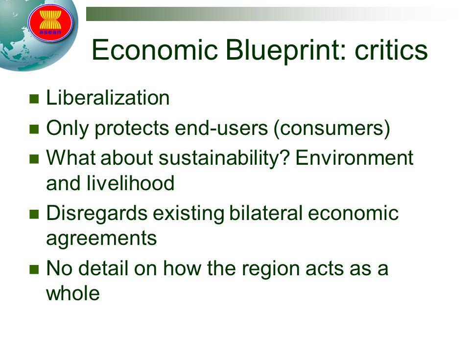 Economic Blueprint: critics