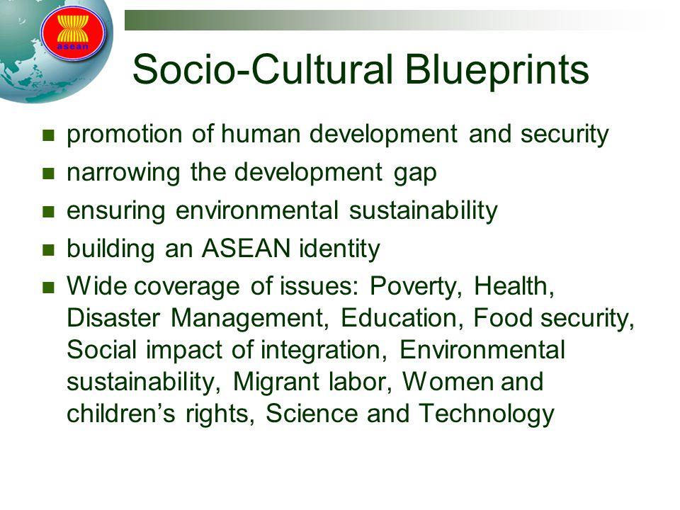 Socio-Cultural Blueprints