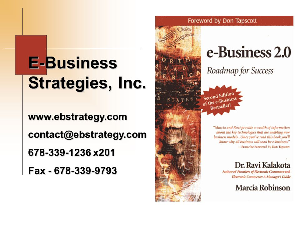 E-Business Strategies, Inc.