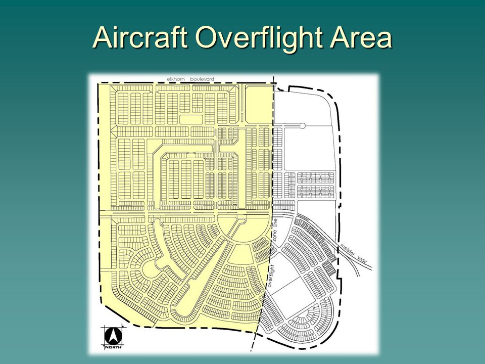Aircraft Overflight Area