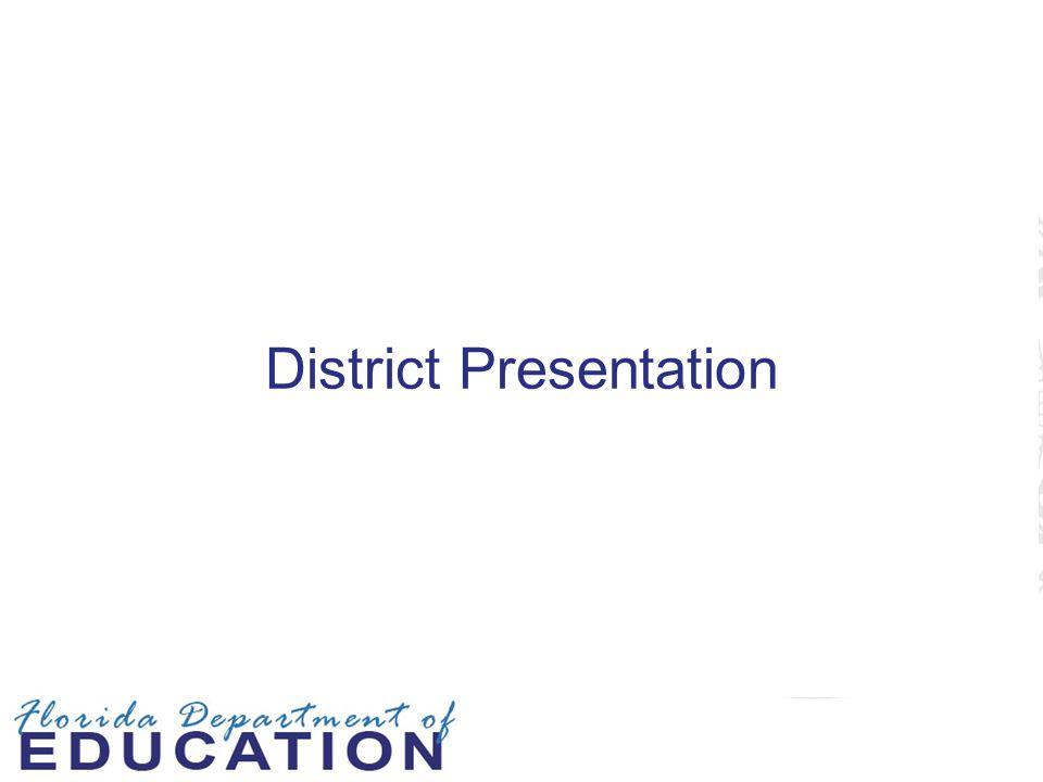 District Presentation