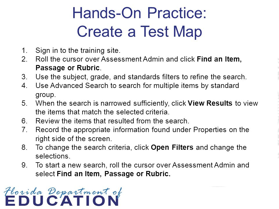 Hands-On Practice: Create a Test Map