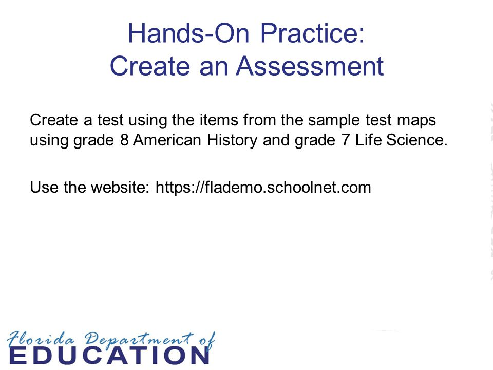 Hands-On Practice: Create an Assessment