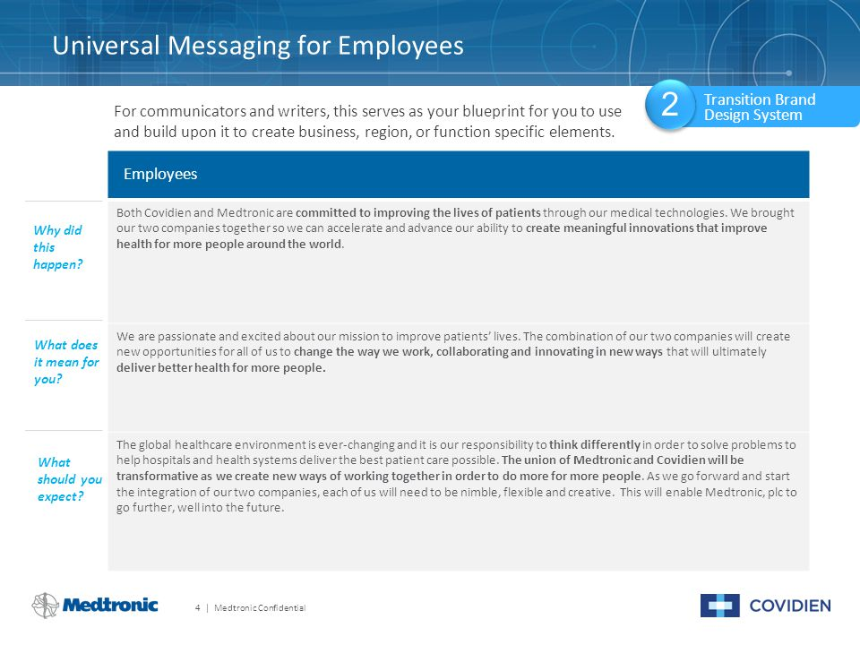 Universal Messaging for Employees