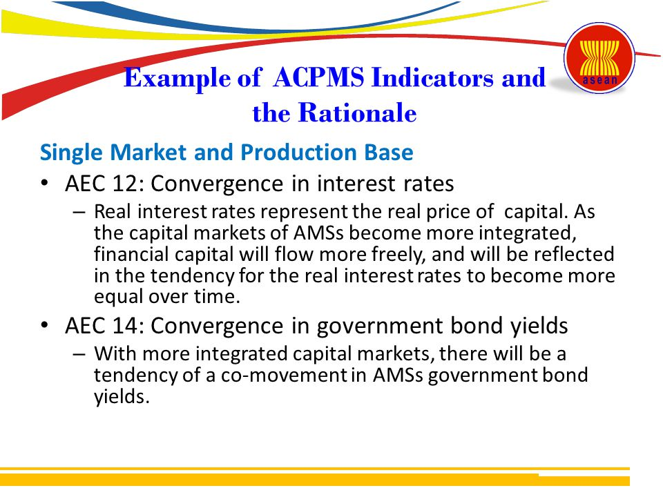 Example of ACPMS Indicators and the Rationale