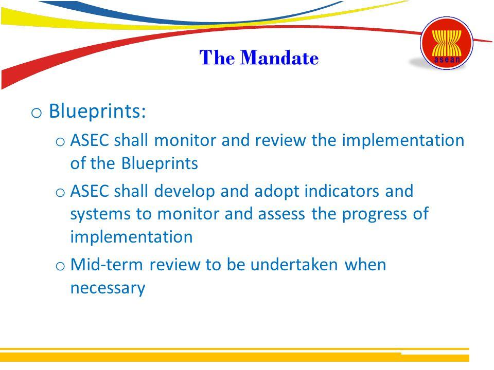 The Mandate Blueprints:
