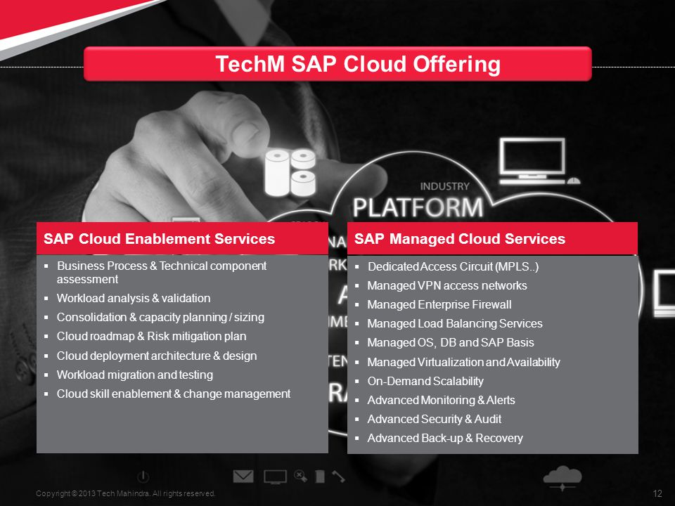 TechM SAP Cloud Offering