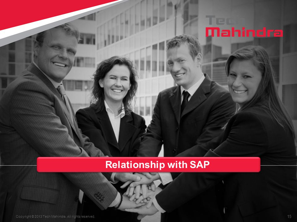 Relationship with SAP
