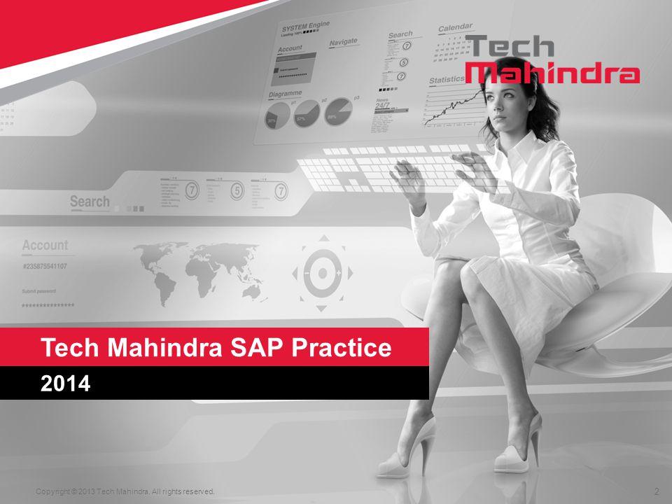 Tech Mahindra SAP Practice