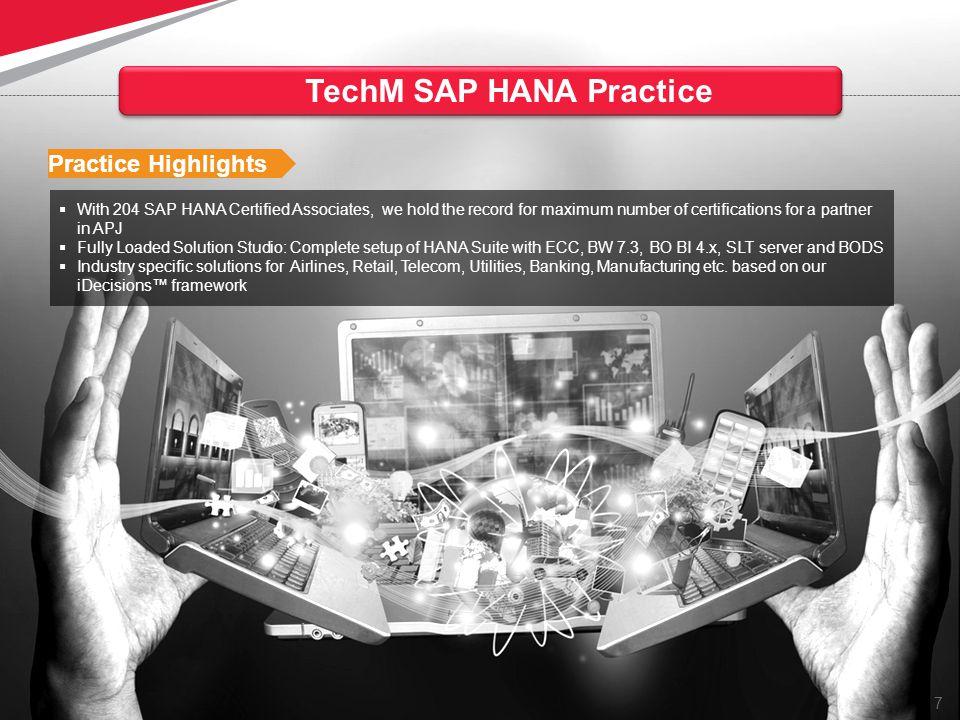 TechM SAP HANA Practice