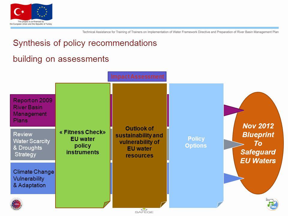Synthesis of policy recommendations building on assessments