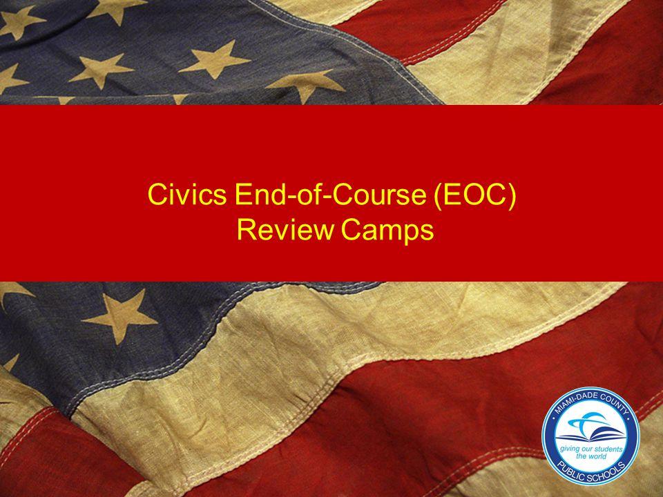 Civics End-of-Course (EOC) Review Camps
