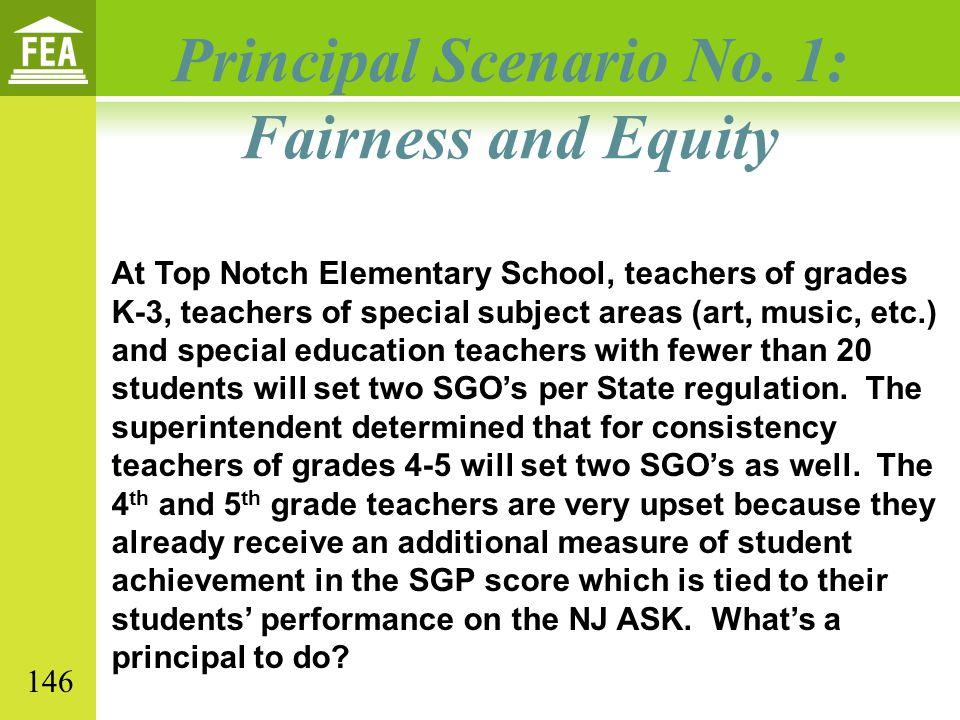 Principal Scenario No. 1: