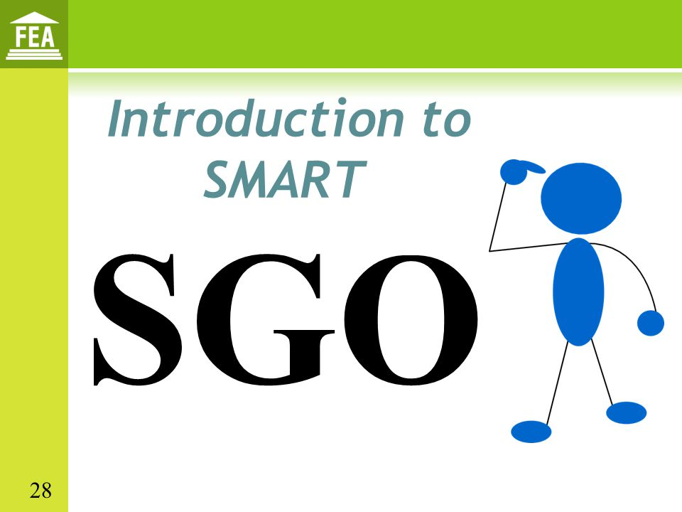 Introduction to SMART SGO 28