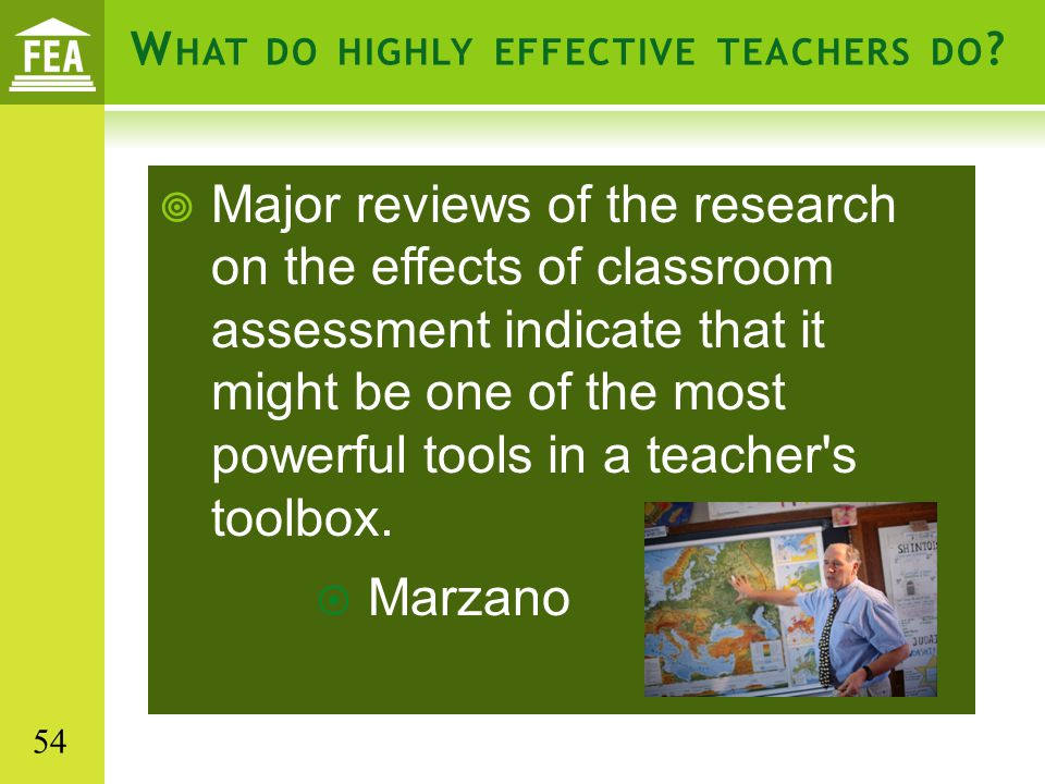 What do highly effective teachers do