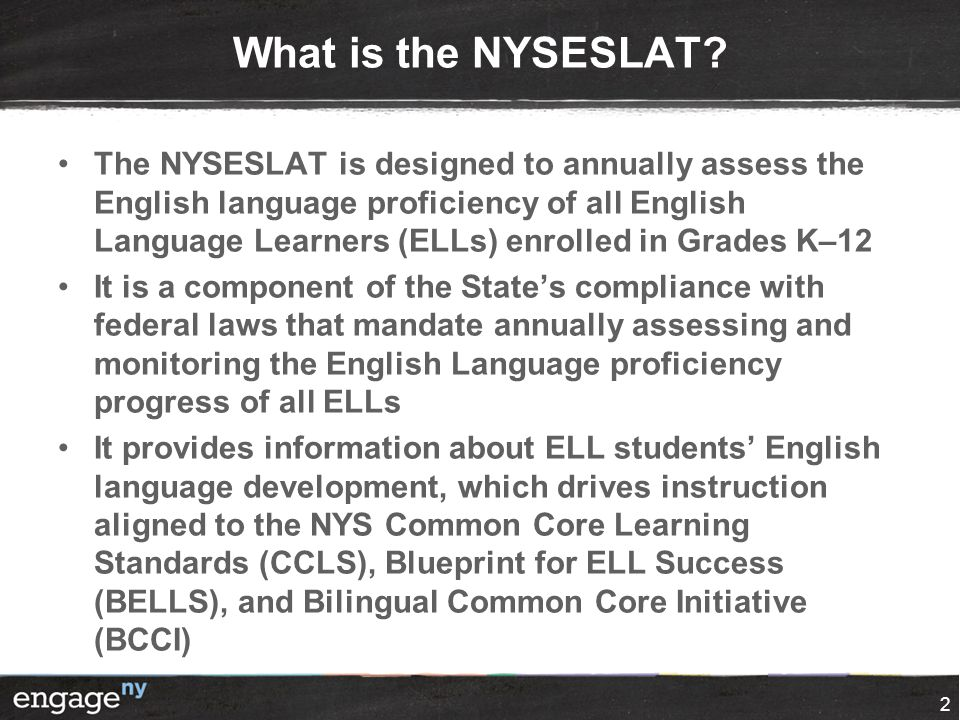 What is the NYSESLAT