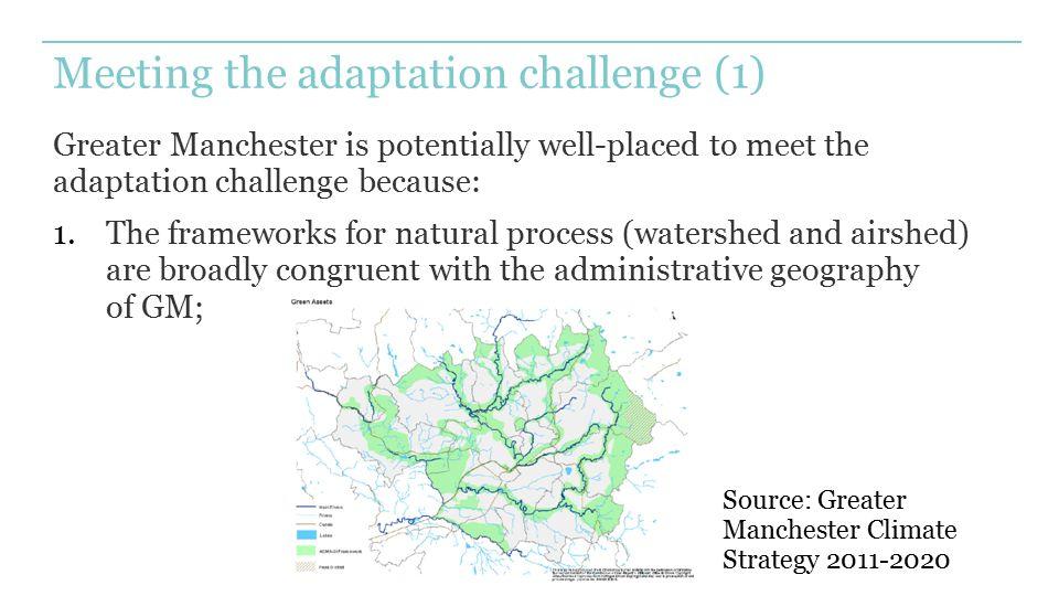 Meeting the adaptation challenge (1)