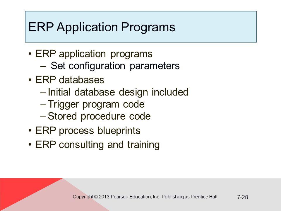 ERP Application Programs