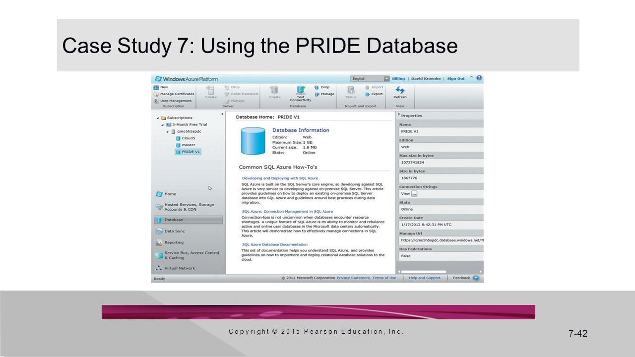 Case Study 7: Using the PRIDE Database