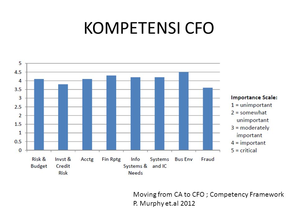 KOMPETENSI CFO Moving from CA to CFO ; Competency Framework