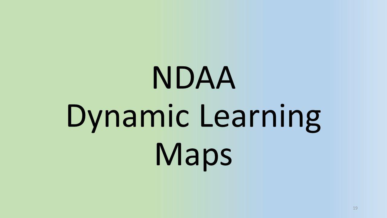 NDAA Dynamic Learning Maps