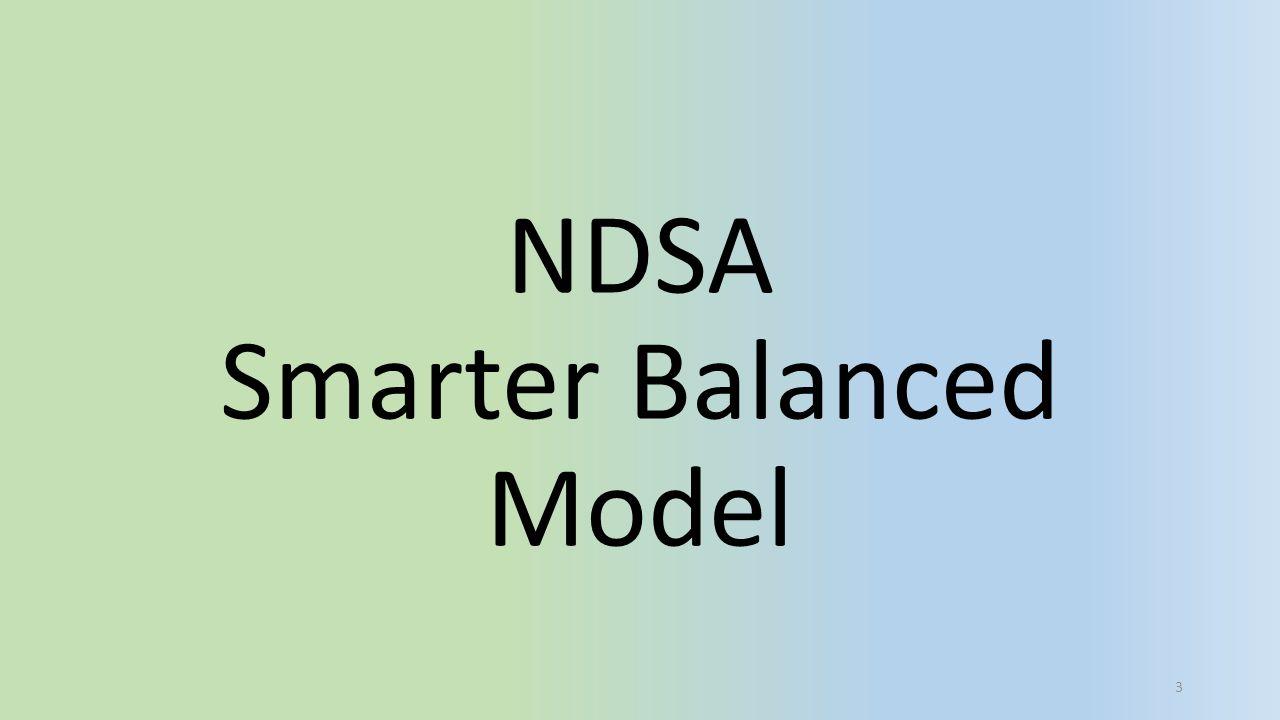 NDSA Smarter Balanced Model