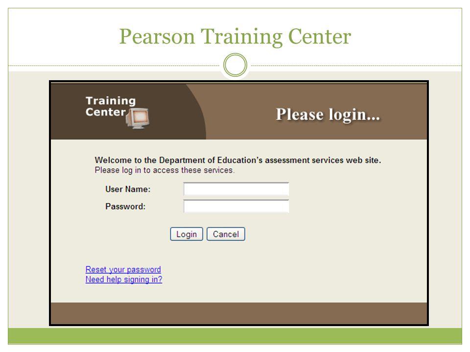 Pearson Training Center