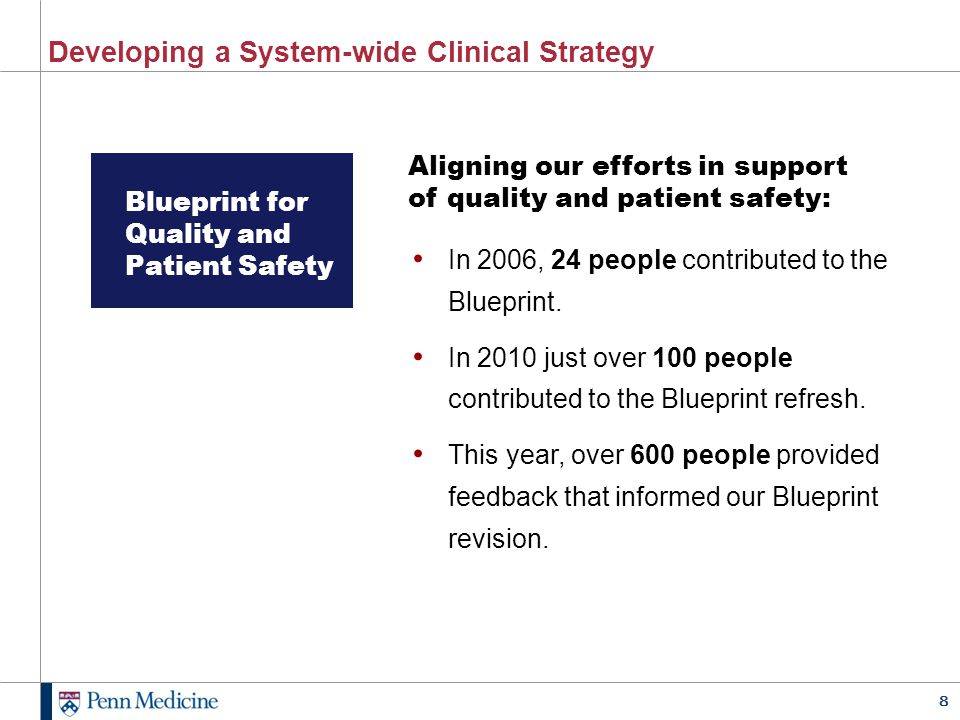 Developing a System-wide Clinical Strategy