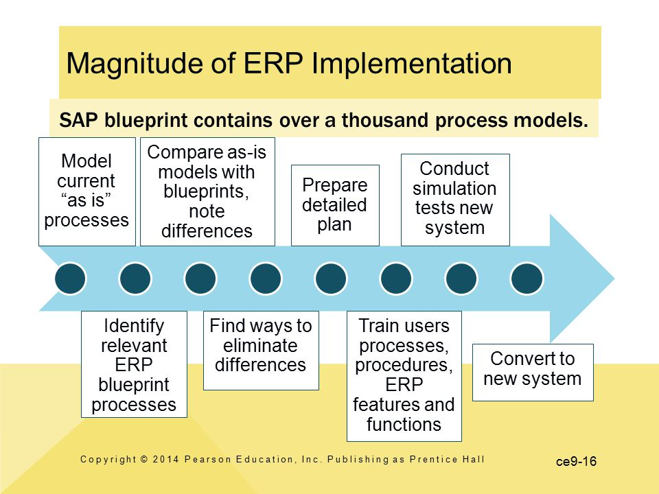 Magnitude of ERP Implementation